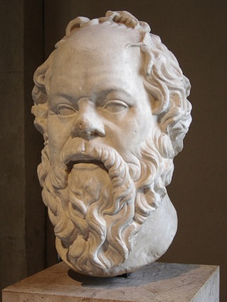 Bust of Socrates, Image by Eric Gaba