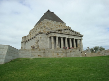 The Shrine of Remembrance - Image Courtesy of Kay Adams